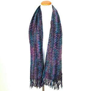 Missoni Accessories - Missoni Purple Sciarpa Scarf
