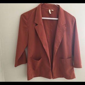 Frenchi Silk Blazer XS