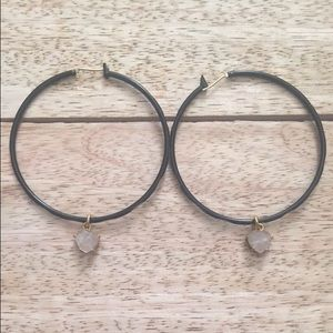 Juicy couture hoops