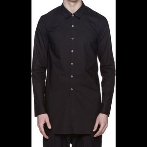 Damir Doma Other - Damir Doma classic button-down shirt in coal black