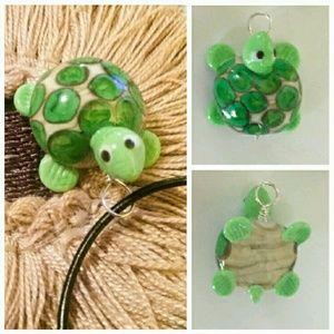 Roxann Slate Jewelry - 🐢 Slow & Steady Wins the Race Turtle Necklace