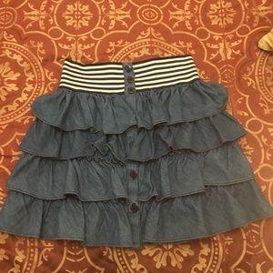 Zara Ruffle Skirt Size 6