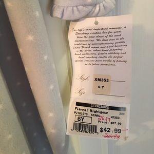 e1be0d742f Strasburg Pajamas - Strasburg Girls Flannel Nightgown