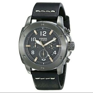 Fossil  Other - NWT Fossil Men's Chronograph Leather watch