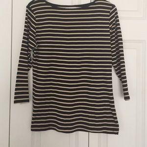 Zara Organic Cotton striped top