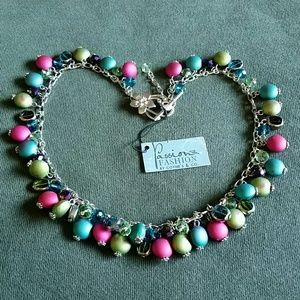 Passion for Fashion Jewelry - Multicolored Statement Necklace