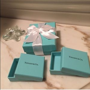 Tiffany & Co. Accessories - 3 Tiffany gift boxes and 5 smaller ones