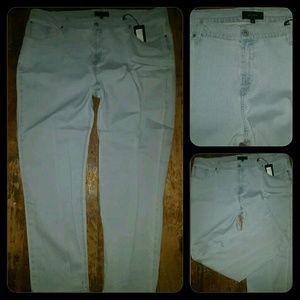 James Jeans Denim - James Jeans Icon TWIGGY Skinny PLUS  24 lulu blue
