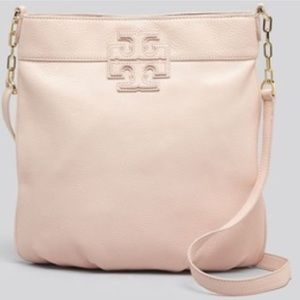Tory Burch stacked book bag