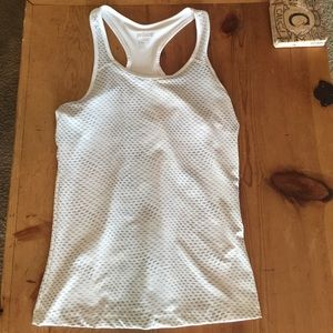 Prince Tops - PRINCE LIKE NEW WORKOUT TOP. WHITE AND SILVER.