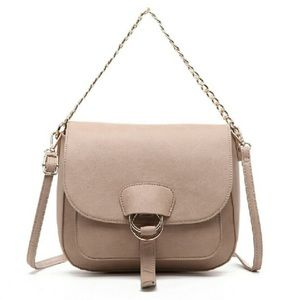Pink Haley Crossbody Bag