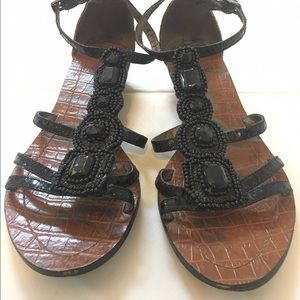 Sam Edelman black sandals size 5 1/2