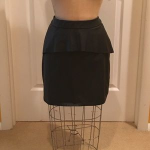 Peplum mini skirt from ASOS