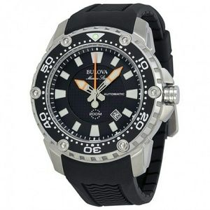 Bulova  Other - NWT Bulova Men's Automatic Stainless Rubber watch
