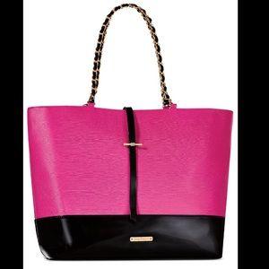 🎉1 hr sale🎉Pink & Black shoulder bag