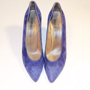 Charles Jourdan Shoes - Charles Jourdan Suede Classic Pumps