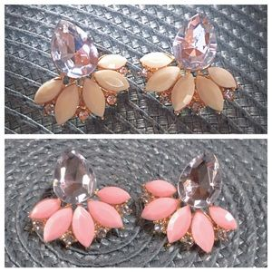 unknown Jewelry - Earrings  your choice of pink or white. NWT
