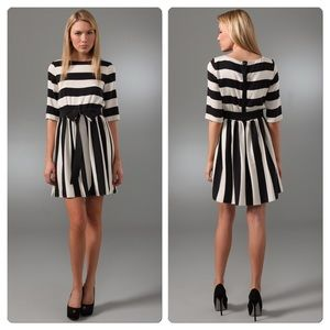 Alice + Olivia Dresses & Skirts - Reduced Again ✂ alice + olivia Striped Emmie Dress