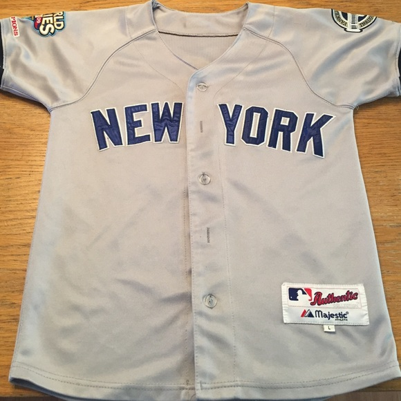 af30fe200 Majestic Shirts & Tops   Youth Jeter Yankees Away Jersey   Poshmark