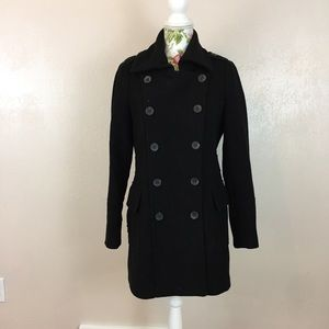 Andrew Marc Jackets & Blazers - Classic black pea coat with a twist