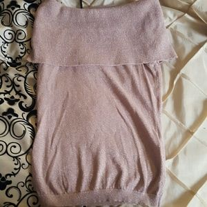 Pink glitter multiway sweater
