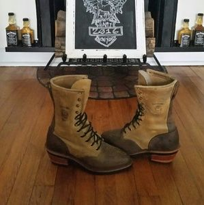 Chippewa Shoes - CHIPPEWA USA Arroyos Packers  Western Boot 7