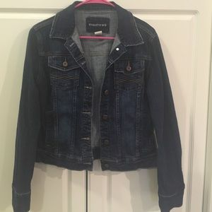 Maurices jean jacket. Size M. Great condition!