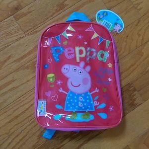 Peppa Pig Other - NWT PEPPA PIG BACKPACK