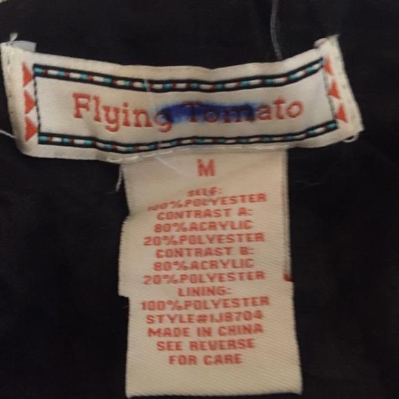 Flying Tomato Jackets & Coats - 🎊NWOT Flying Tomato Black/White Cape. Sz Medium