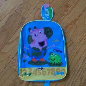Peppa Pig Other - NWT GEORGE PIG backpack
