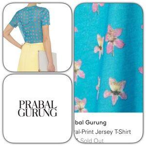 Prabal Gurung Tops - Authentic Prabal Grunig Jersey Tee