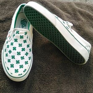 ec42e202ff24a4 Vans Shoes - White W  Lucky