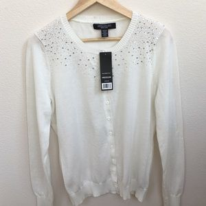 Central Park West Sweaters - 🚦SALE🚦Sequin/Beaded Cardigan Sweater