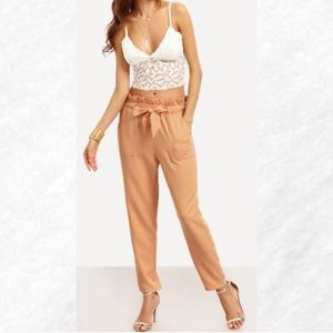 Pants - Apricot High Waisted Pant
