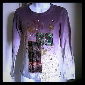 Oliver Spencer Tops - Women's long sleeve embellished shirt S