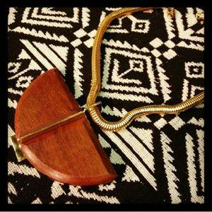 Jenny Bird Jewelry - Jenny Bird half moon necklace