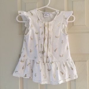 Little Marc Jacobs Other - Little Marc Jacobs 3 month baby dress top
