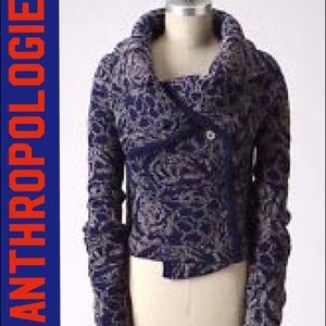 Anthropologie cropped sweater xs