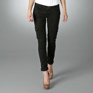 Paige Jeans Denim - Paige Jeans Skinny Cargo in Black