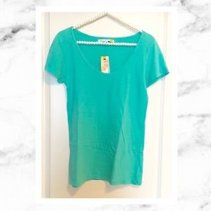C&C California Tops - C&C California Bright Teal Green Tee