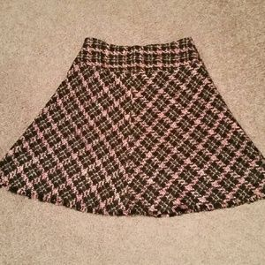 INC International Concepts Dresses & Skirts - Like New INC Plaid Above the Knee Skirt