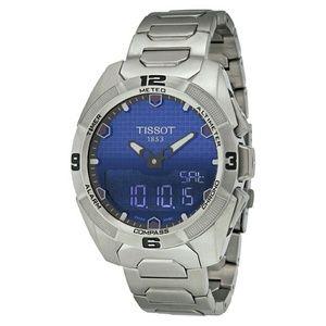 Tissot  Other - NWT $1,250 Tissot T-Touch Solar Titanium watch