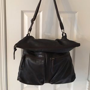 J. Jill Handbags - 🛍 J. Jill Brown Leather Cross Body Bag