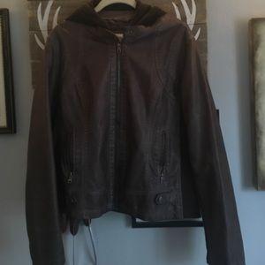 Sebby Jackets & Blazers - Faux leather jacket
