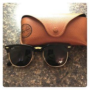 21d0cb429b43 Brand New Prada Sunglasses PR 09QS Brand New Black Rayban Clubmasters ...
