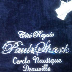 Paul & Shark Handbags - Luxury XL Crystalized Plush Tote NWT