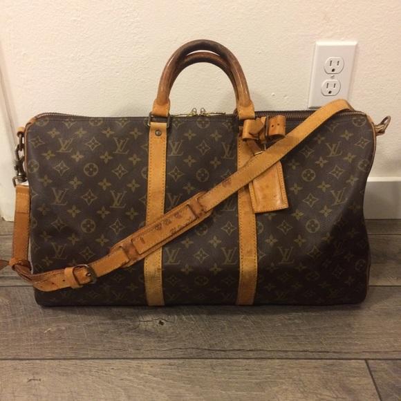 4793c905fb81 Louis Vuitton Handbags - Authentic Louis Vuitton Keepall 50 Bandouliere