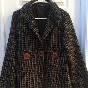 Hazel Anthropologie Tweed Jacket