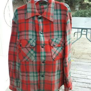 Chippewa Tops - Vintage Unisex plaid work overshirt