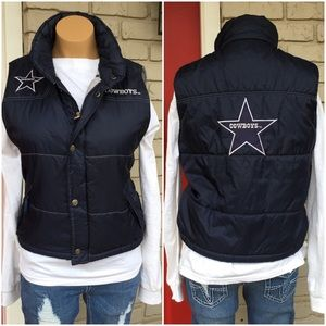 new arrival 8801b 08338 Dallas Cowboys puffer vest
